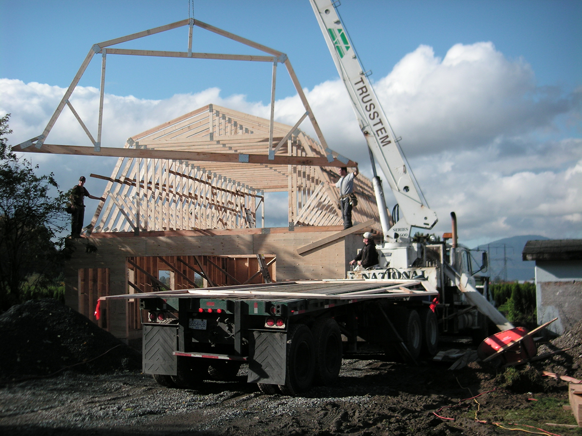 Chilliwack new farm construction